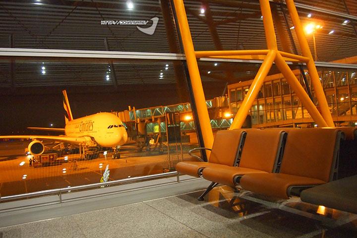 首都机场—迪拜机场