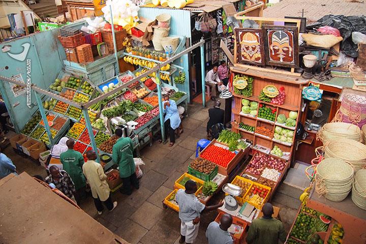 肯尼亚内罗毕市场
