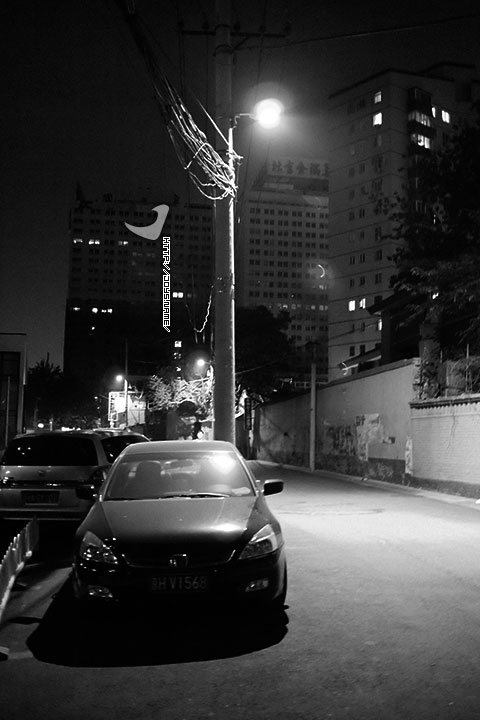 夜游鲍家街