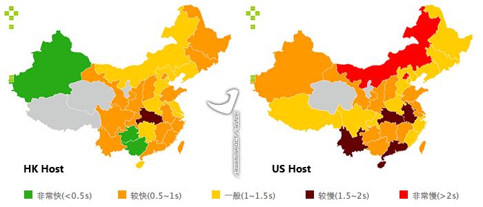 香港主机 vs 美国主机