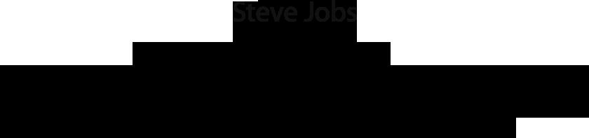 Remembering Steve Jobs