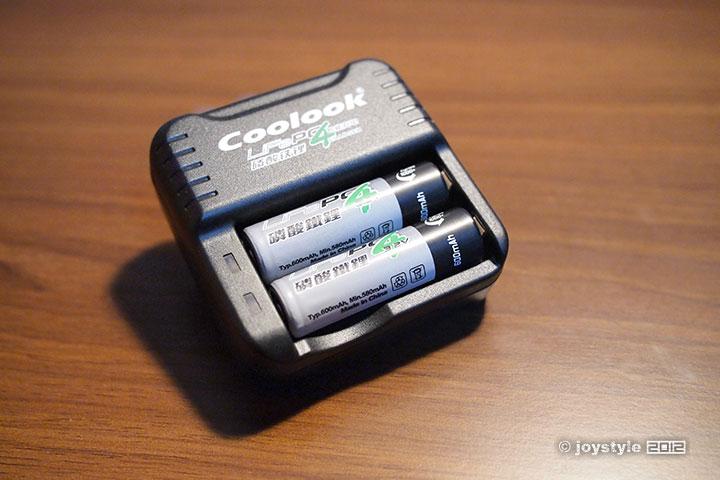 Coolook磷酸铁锂电池充电器