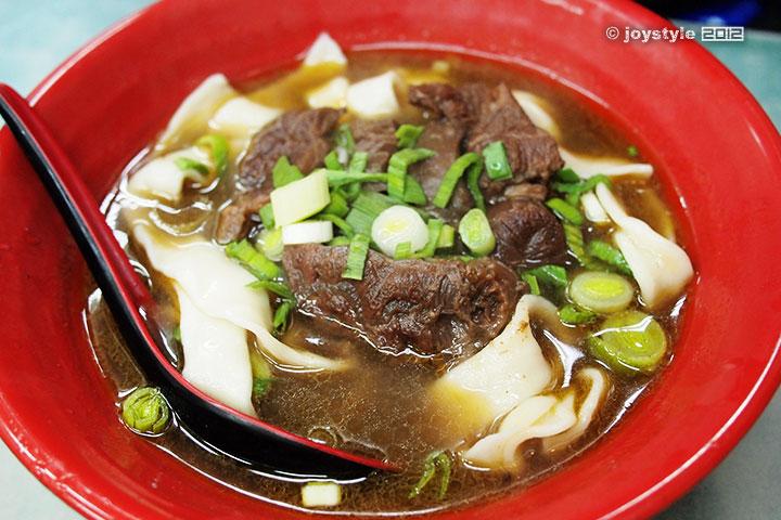 吃在台湾 红烧牛肉面