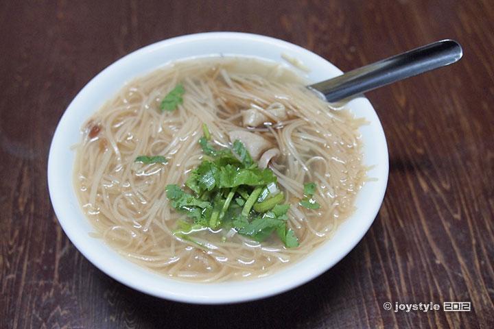 吃在台湾 大肠面线