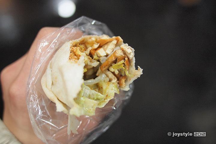 吃在台湾 猪肉芥末春卷
