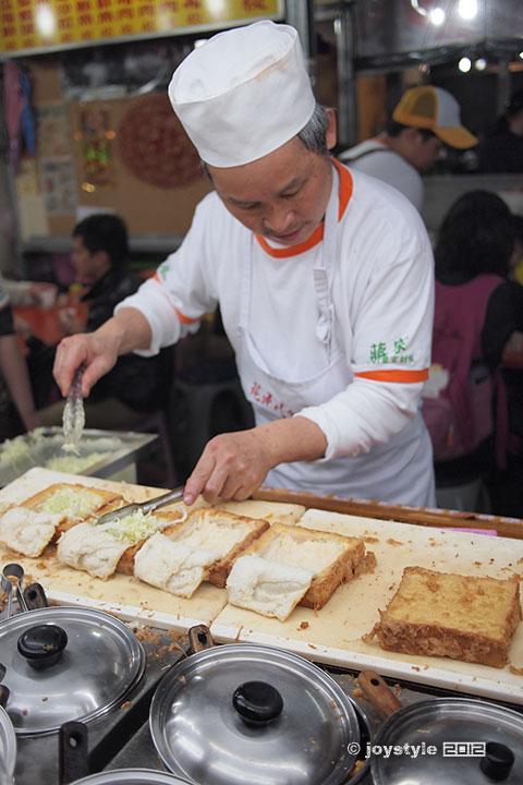 吃在台湾 蒋家创意棺材板