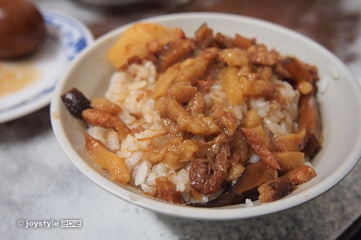 吃在台湾 鲁肉饭