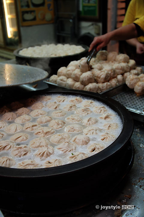 吃在台湾 高丽菜包