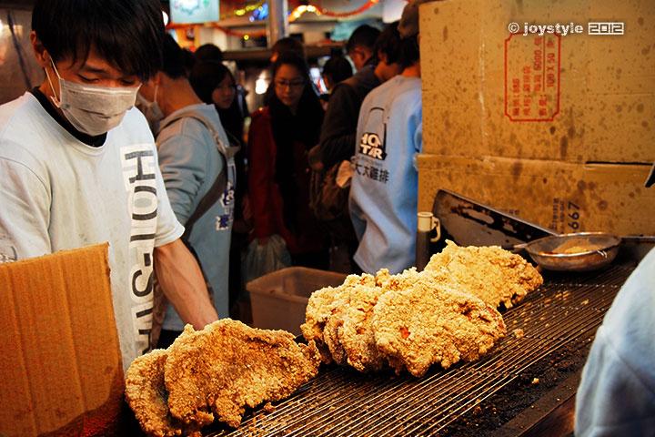 吃在台湾 豪大大鸡排
