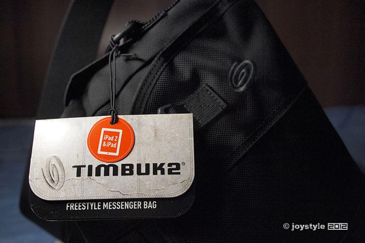 Timbuk2 Freestyle Messenger Bag 吊牌