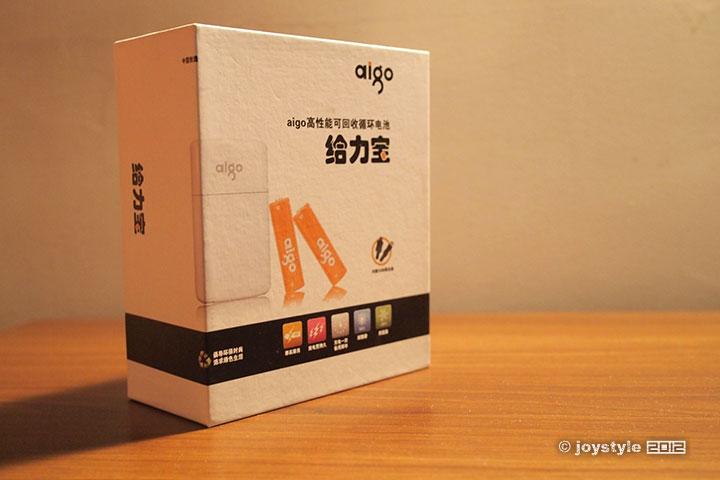 aigo给力宝TDQ2移动电源 包装
