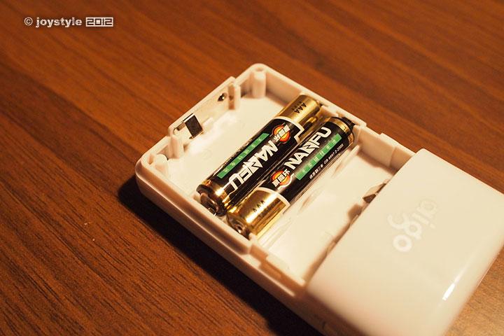 aigo给力宝TDQ2移动电源 装载电池