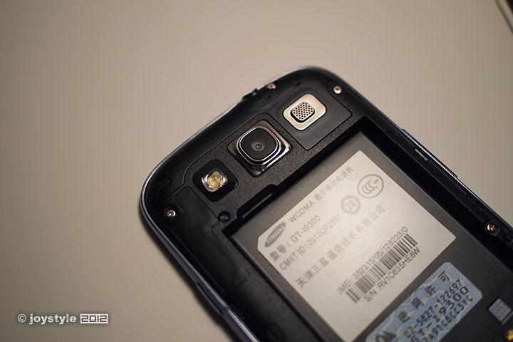 Samsung Galaxy S III 摄像头