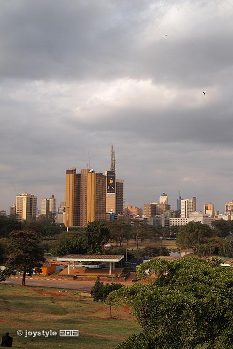 再走肯尼亚——内罗毕市中心