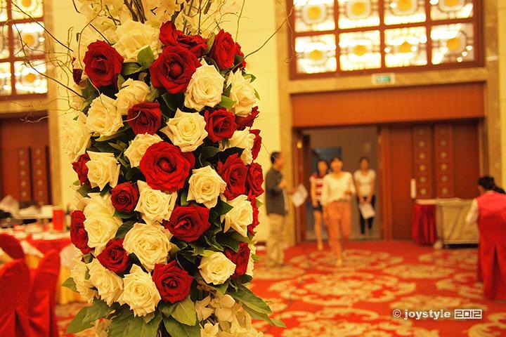 陈和丁的婚礼