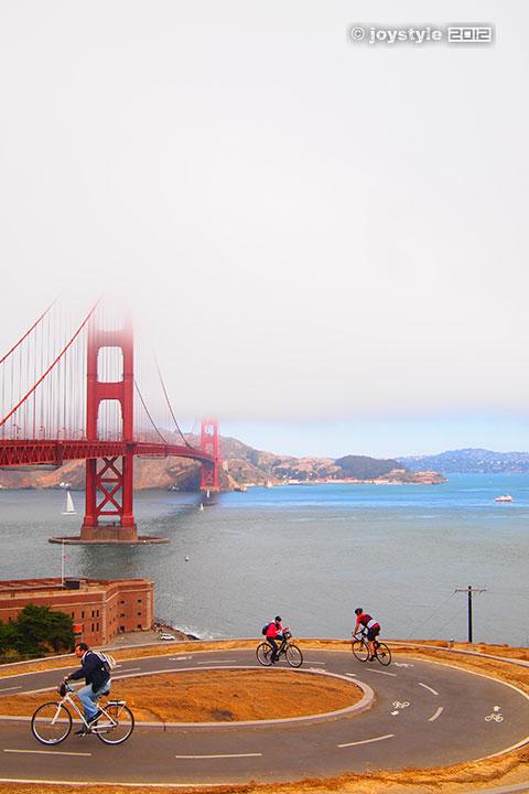 2012年9月17日摄于美国旧金山金门大桥
