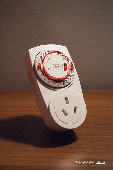 科德机械式定时器插座