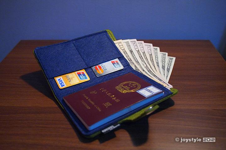 GoOut Simplism护照包
