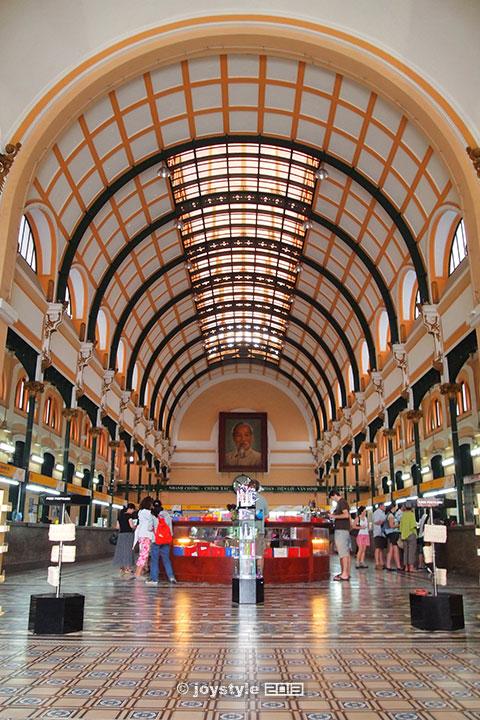胡志明市中央邮局