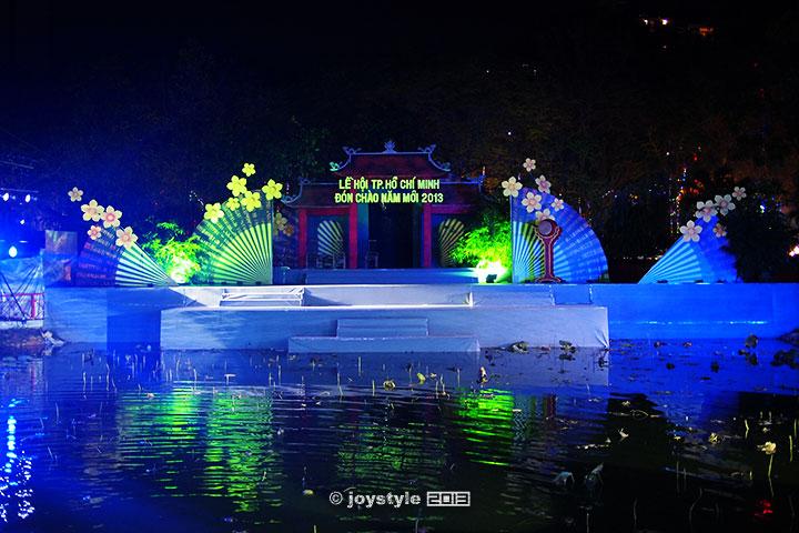 胡志明市范五老街夜市