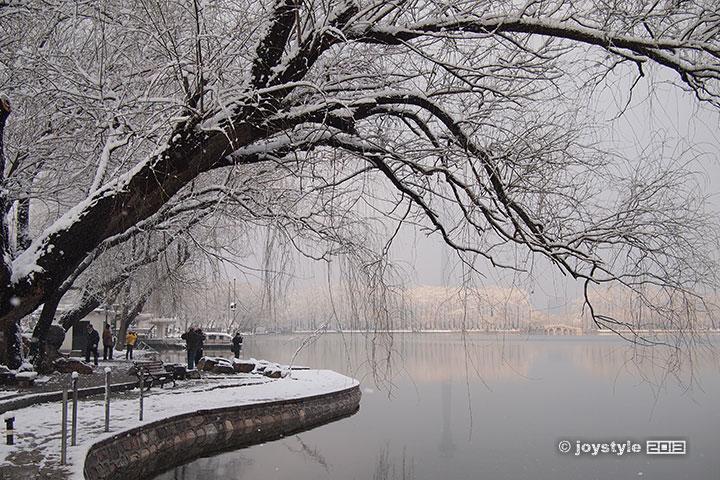 2013年3月20日摄于北京玉渊潭公园
