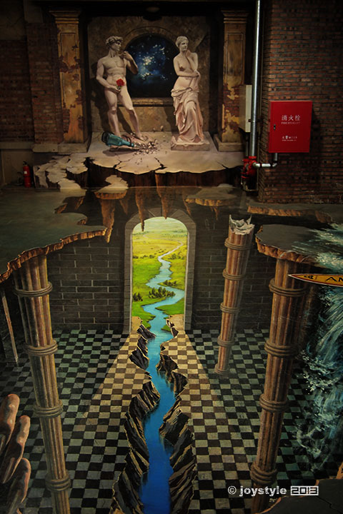 框外创意——酷玩3D壁画展