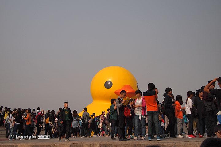 颐和园大黄鸭