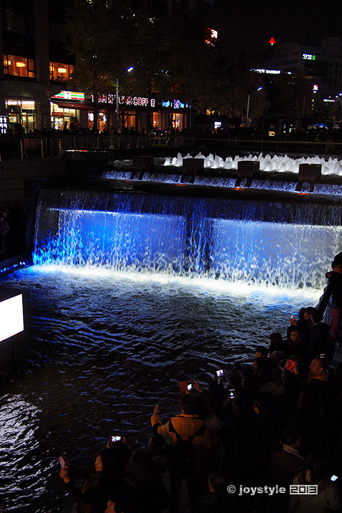首尔 清溪川广场