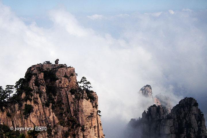 2014年10月22日摄于黄山
