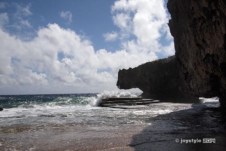 塞班岛 鳄鱼头海滩