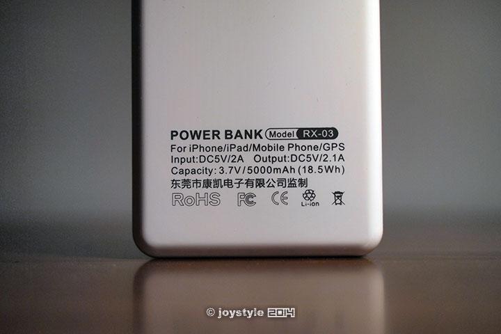 力童RX-03移动电源盒