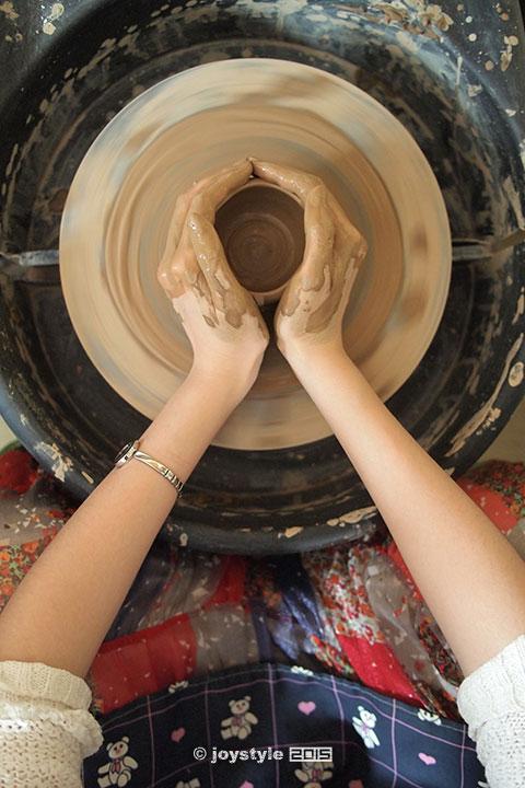 2015年5月16日摄于北京某陶艺吧