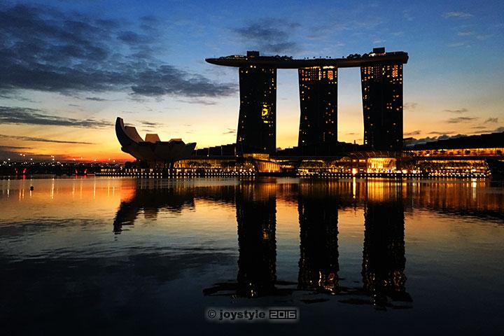 2016年11月8日摄于新加坡Marina Bay