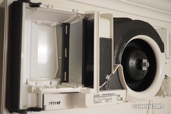 三菱VL-10S2-D新风机