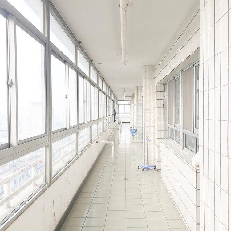 2018年10月14日摄于北京同仁医院